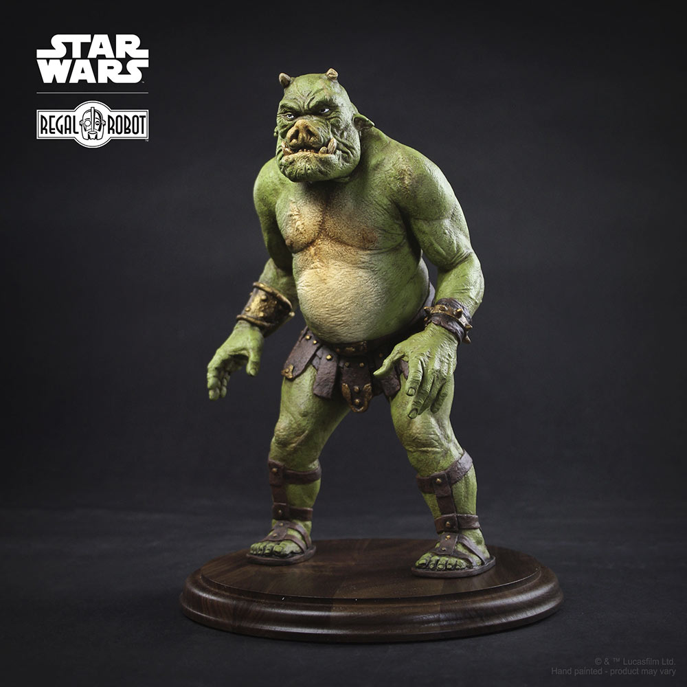Gamorrean Fighter Concept Maquette from Regal Robot
