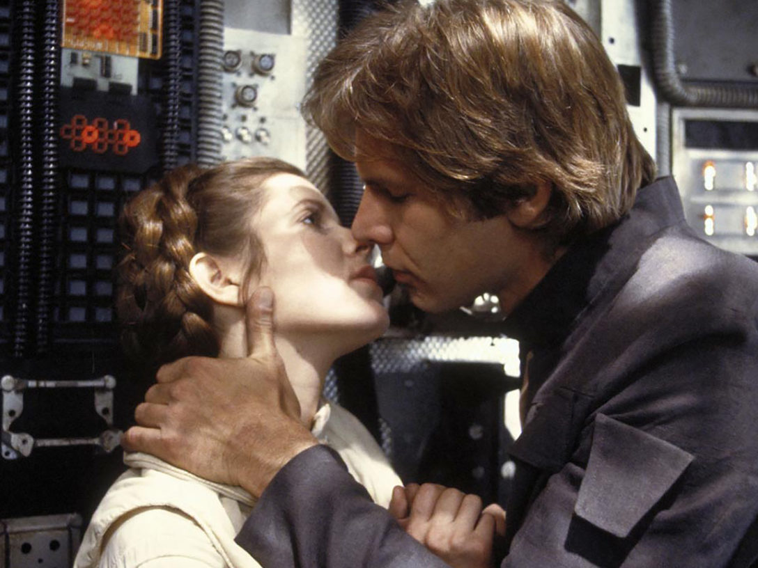 Han and Leia from The Empire Strikes Back