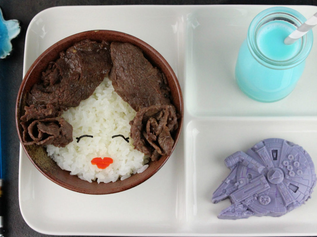 Princess Leia Rice Bowl final