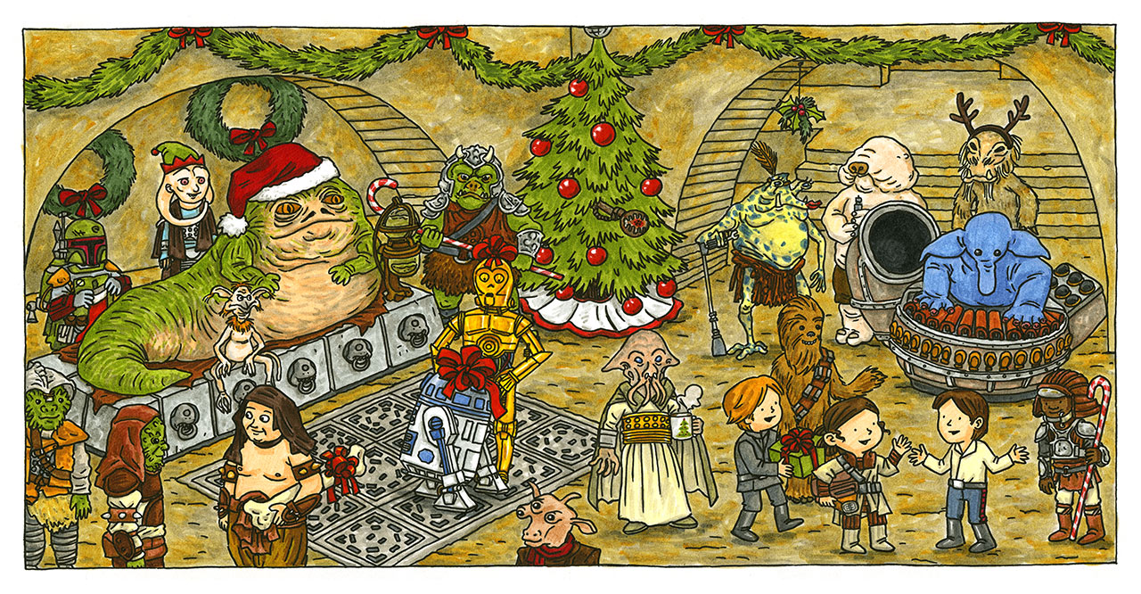 Star Wars: A Vader Family Sithmas - Jabba's excerpt