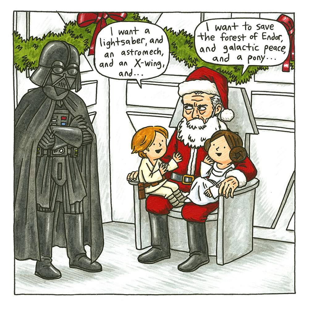 Star Wars: A Vader Family Sithmas excerpt