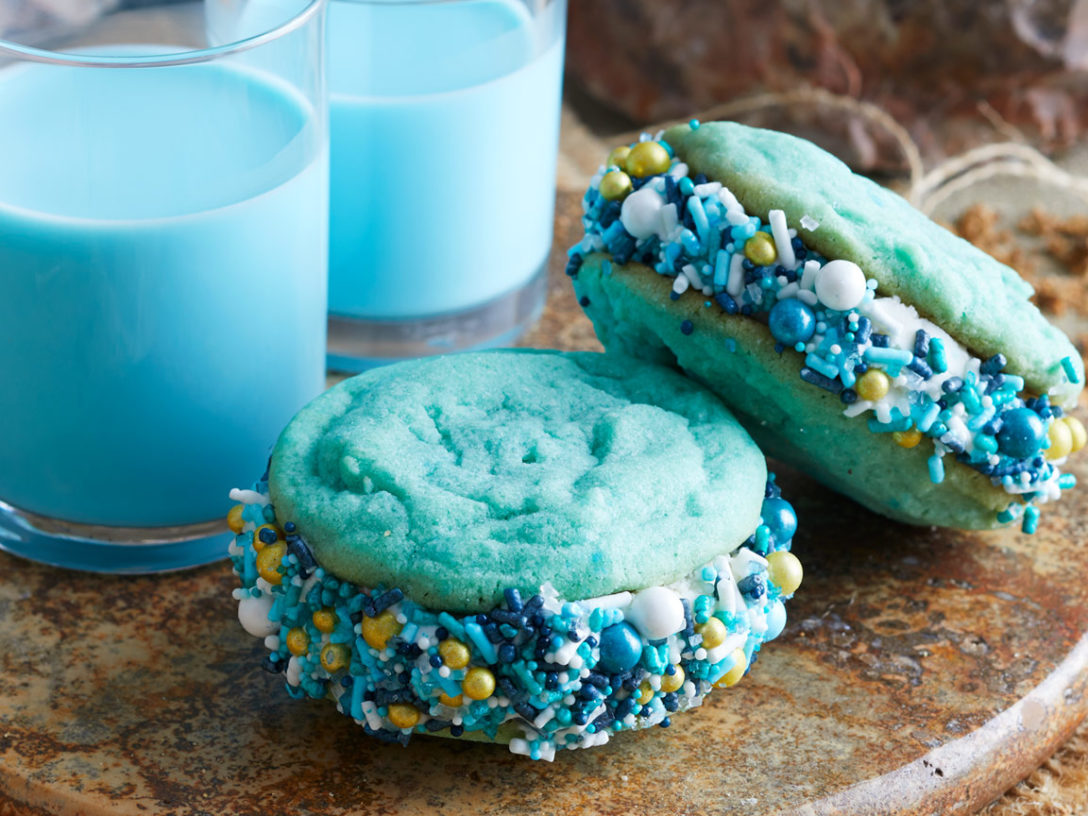 Bantha Blue Butter Sandwich Cookies
