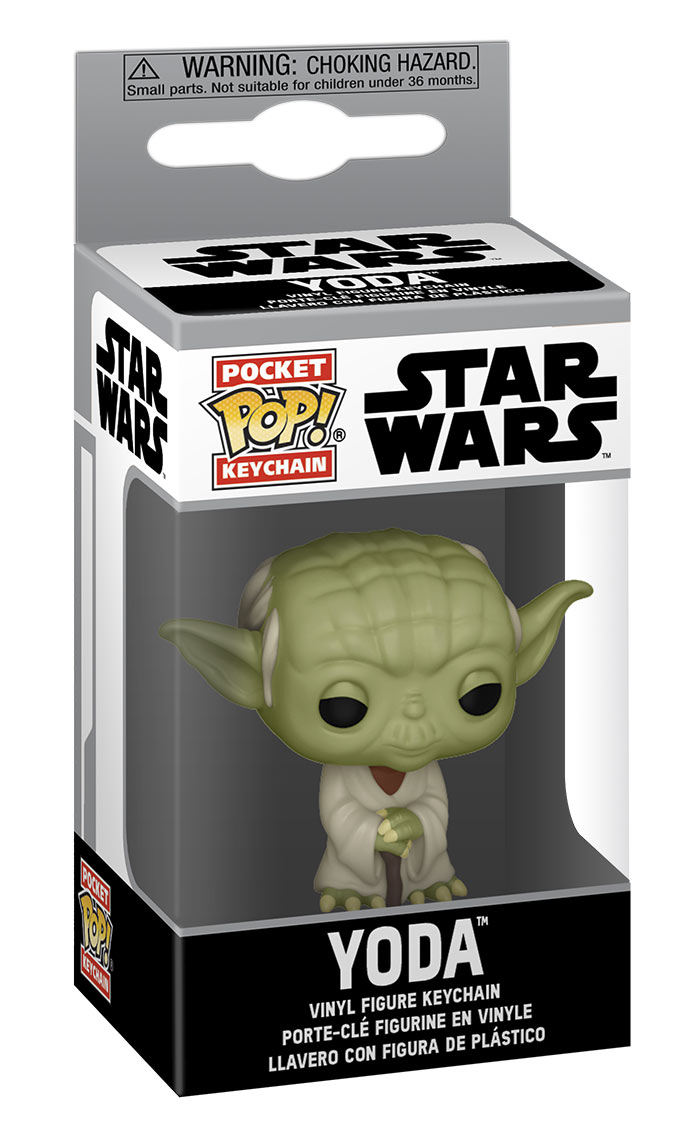 Star Wars Pop! Yoda Bobbleheads and Keychains from Funko