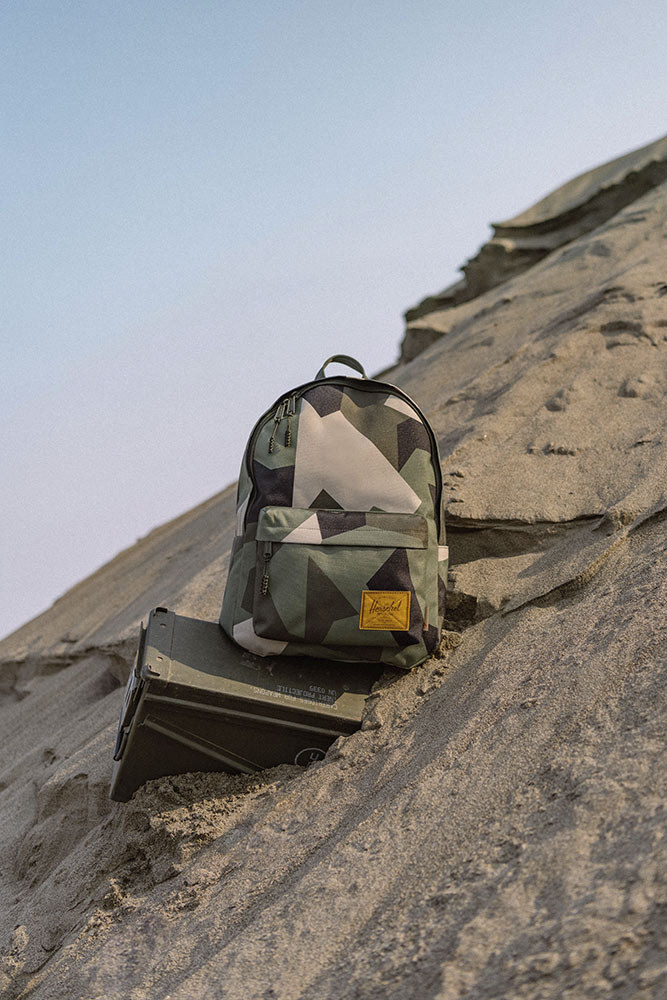 Star Wars x Herschel collaboration Boba Fett backpack