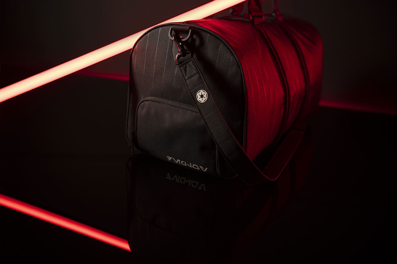 Star Wars x Herschel collaboration Darth Vader bag