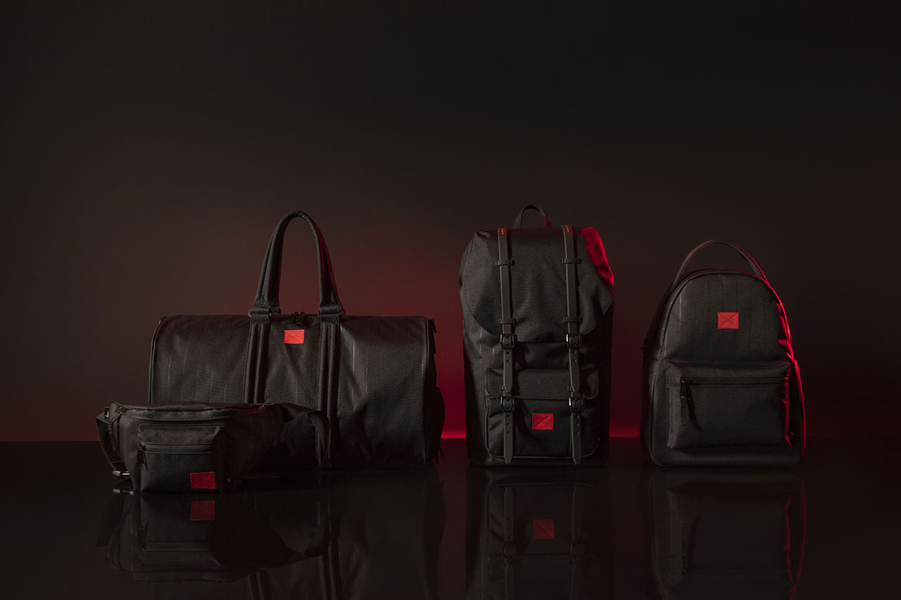 Star Wars x Herschel collaboration Darth Vader line