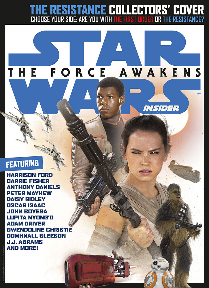 Star Wars Insider issue 162 heroes cover