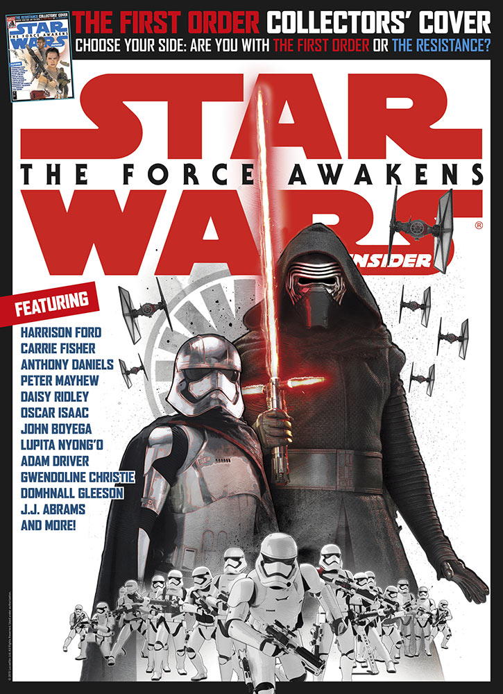 Star Wars Insider issue 162 villains cover