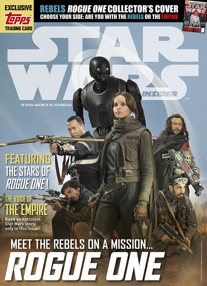 Star Wars Insider issue 17 heroes cover