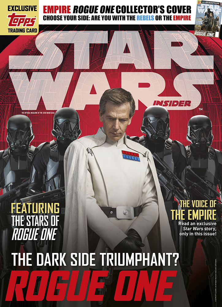Star Wars Insider issue 170 villains cover