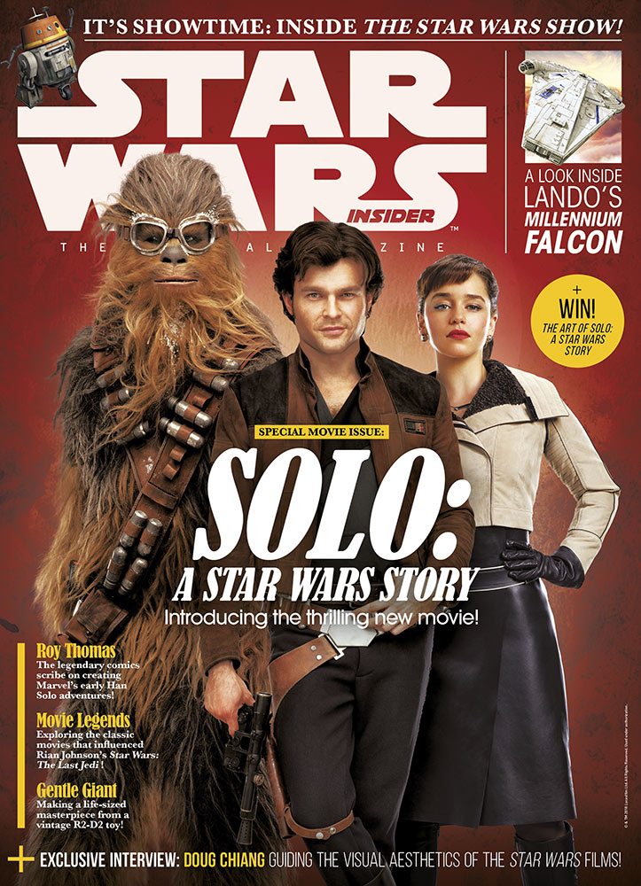 Star Wars Insider issue 181 cover