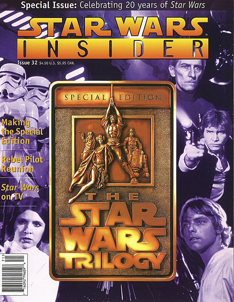 Star Wars Insider issue 32 cover