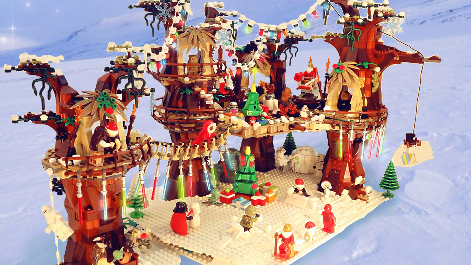 LEGO Star Wars Holiday contest submission - Lindsay Virgilio