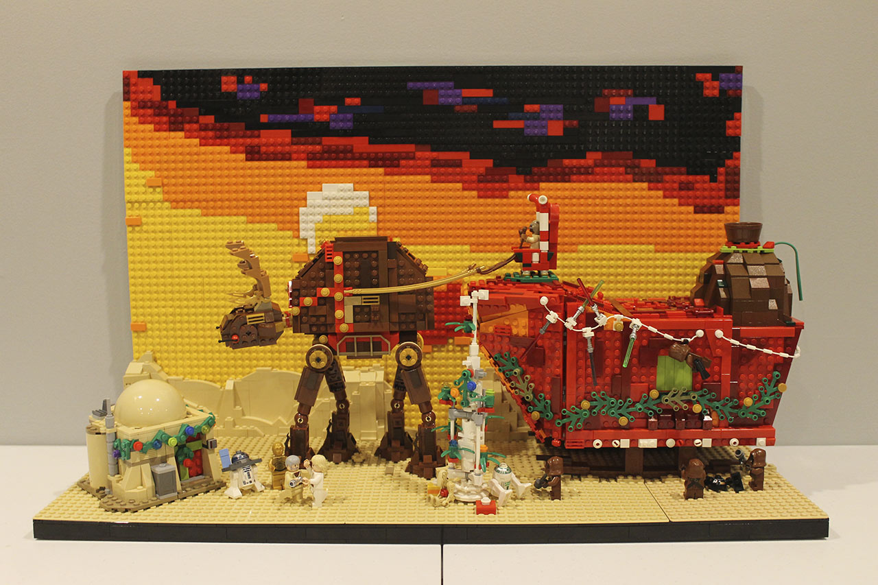 LEGO Star Wars Holiday contest submission - Brian Steinberg