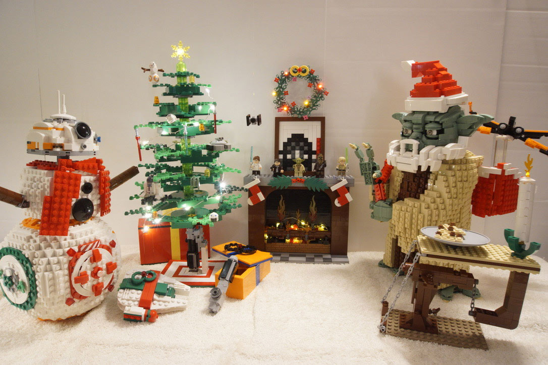 LEGO Star Wars Holiday contest submission - Steve Leuer