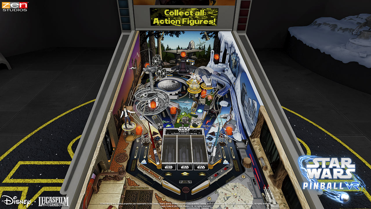 Star Wars Pinball VR gameplay