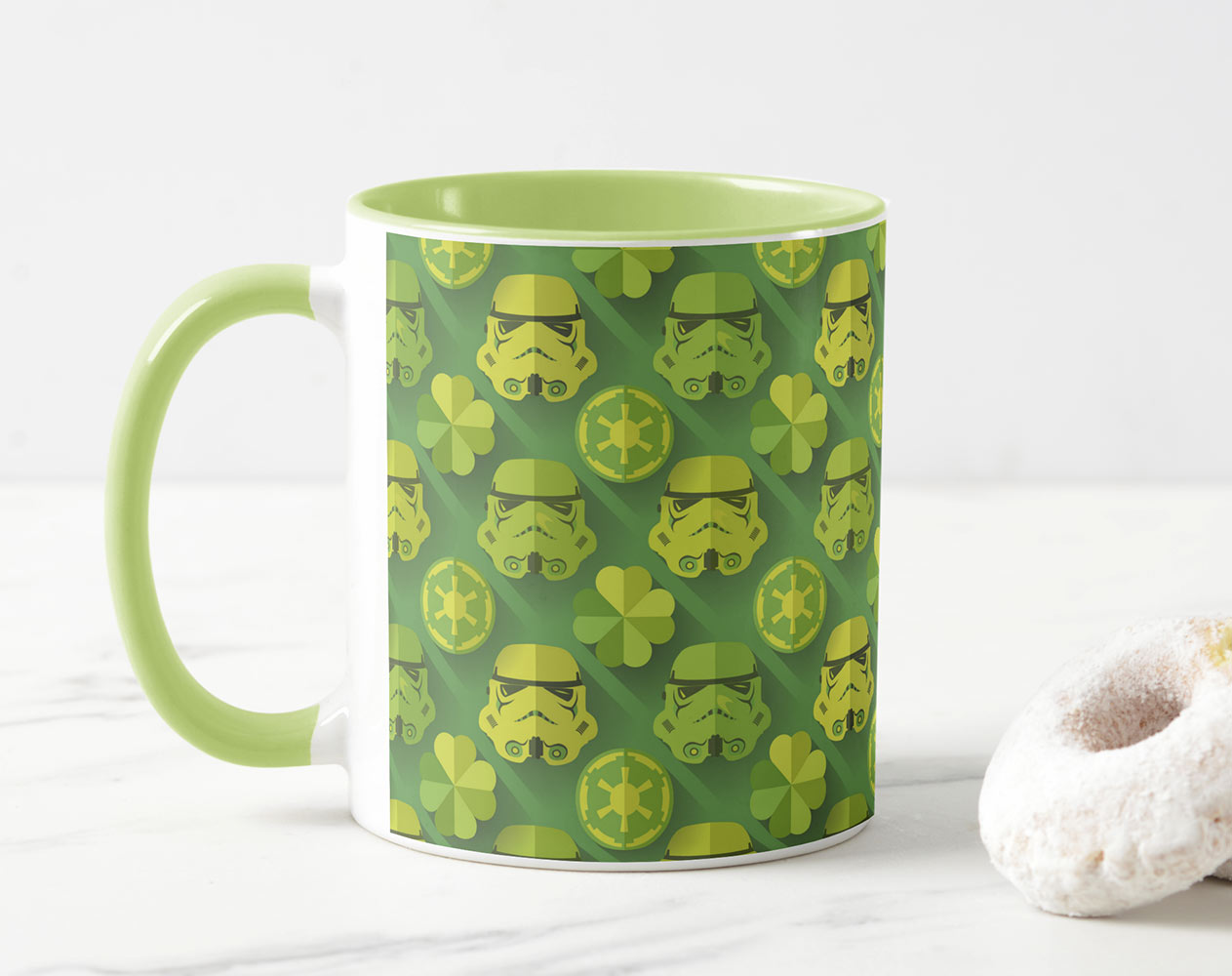 Stormtrooper St. Patrick's Day Mug from Zazzle