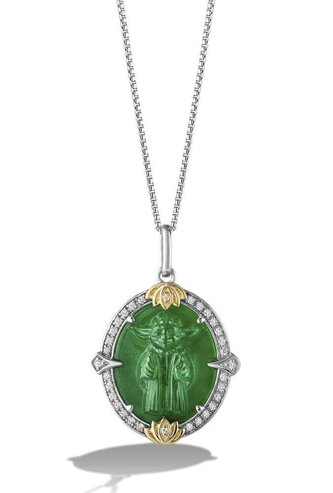 The Jedi Master Pendant from Star Wars Fine Jewelry
