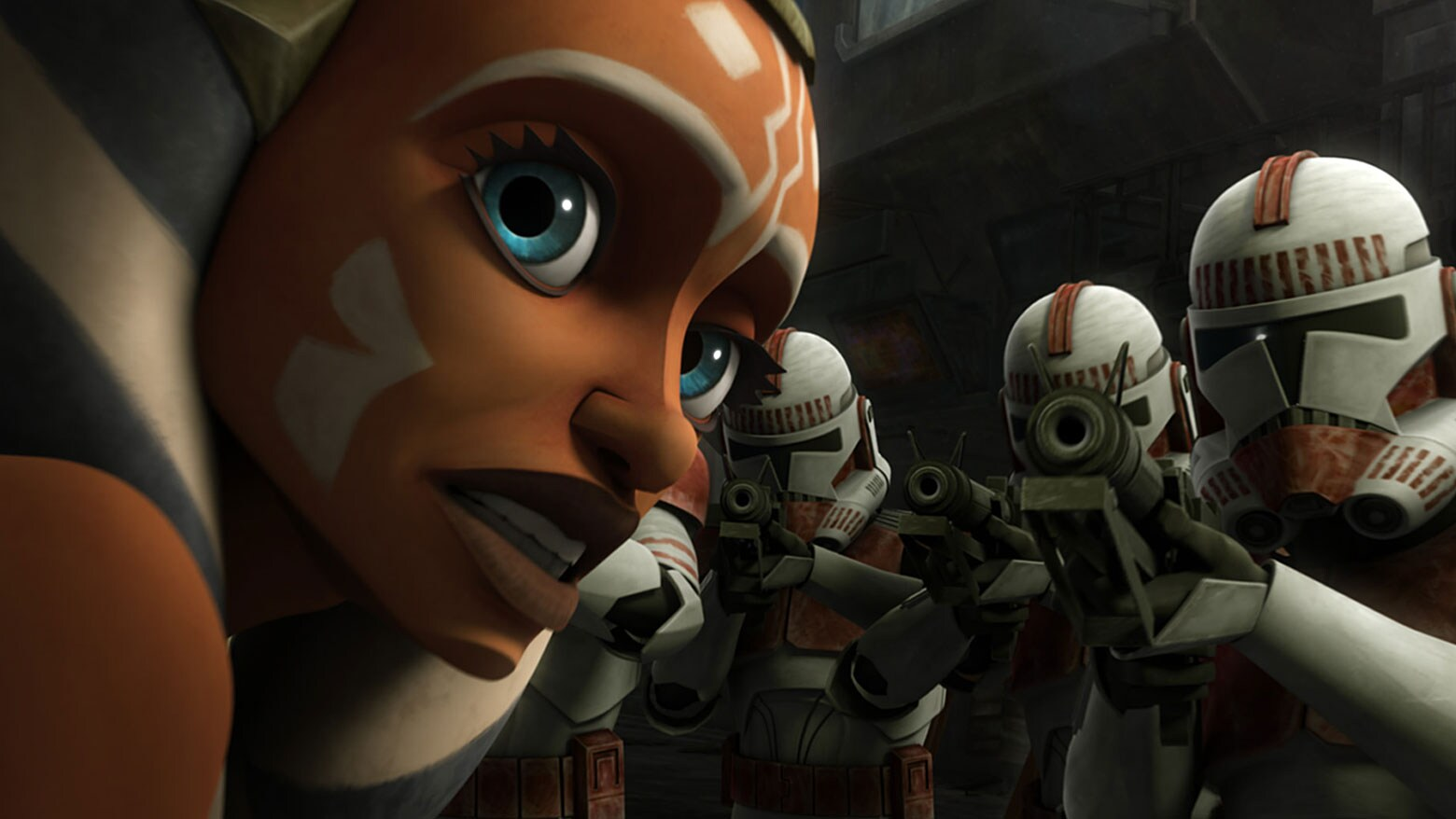 "Ahsoka in ""To Catch a Jedi"""