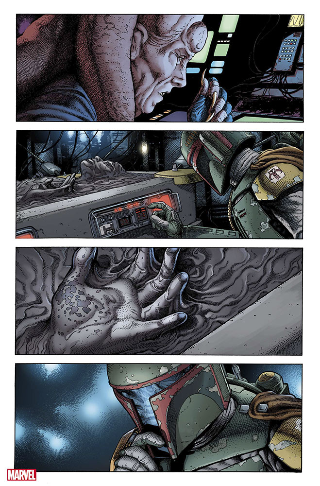 War of the Bounty Hunters interior page