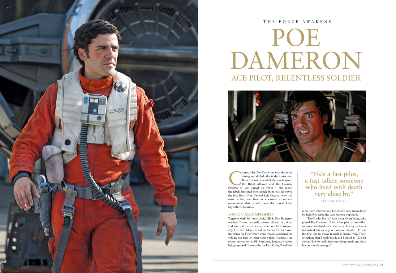 Star Wars: The Age of Resistance - Poe Dameron article