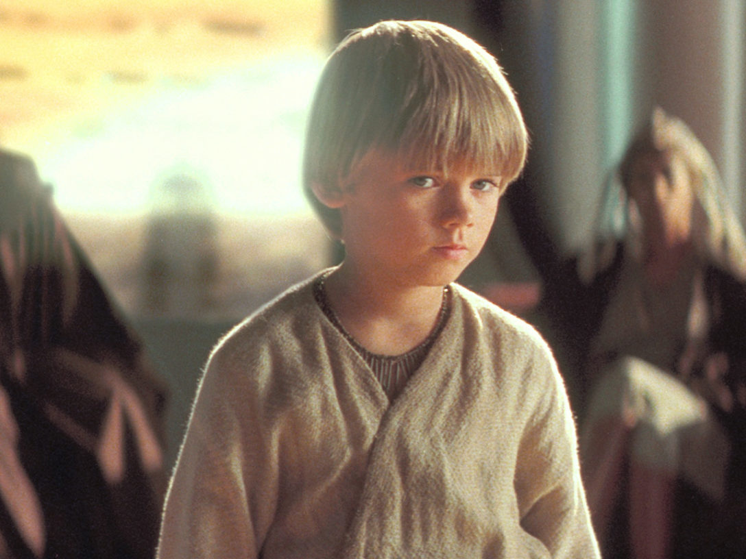 Anakin in Star Wars: The Phantom Menace