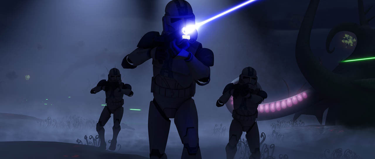 """A scene from """"Darkness on Umbara"""""""