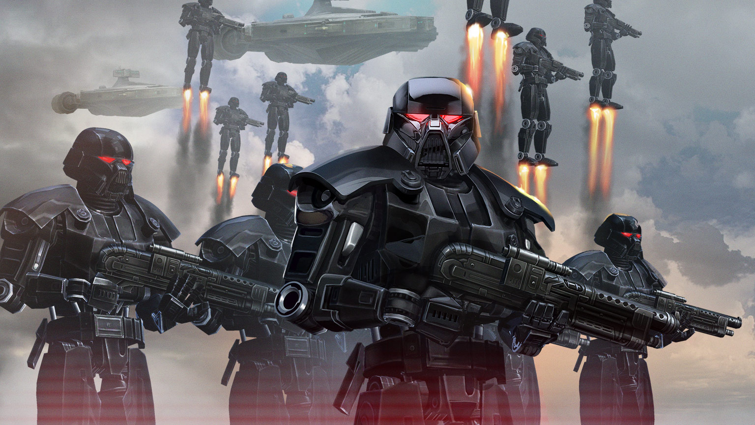 Star Wars: Galaxy of Heroes Dark Troopers
