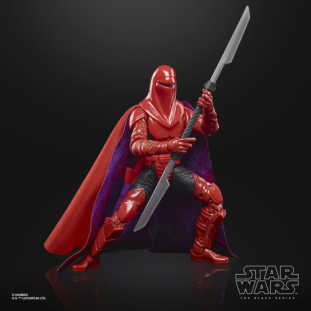 Hasbro's Black Series Carnor Jax (Star Wars: Crimson Empire)