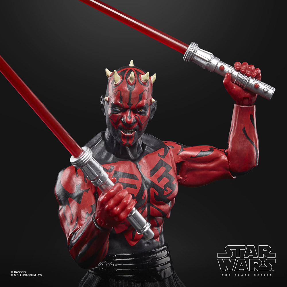 Hasbro's Black Series Darth Maul (Star Wars: Darth Maul)