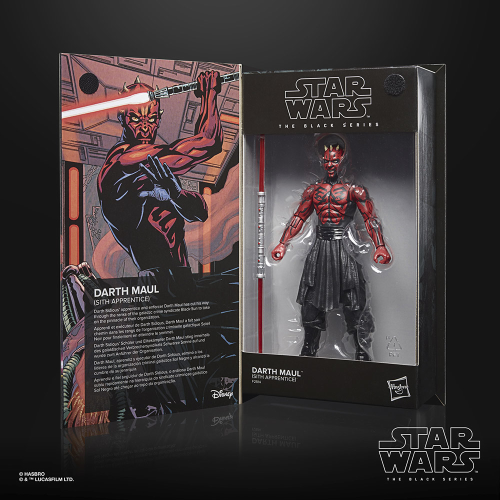 Hasbro's Black Series Darth Maul (Star Wars: Darth Maul) box