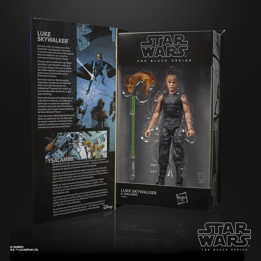 Hasbro's Black Series Luke Skywalker (Star Wars: Heir to the Empire) box