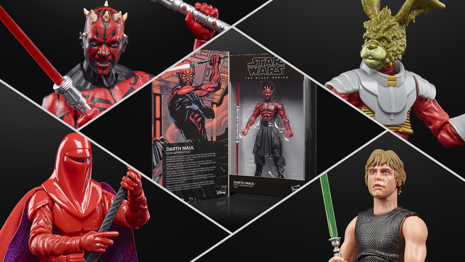 Star Wars The Black Series figures inspired by Star Wars books and comics
