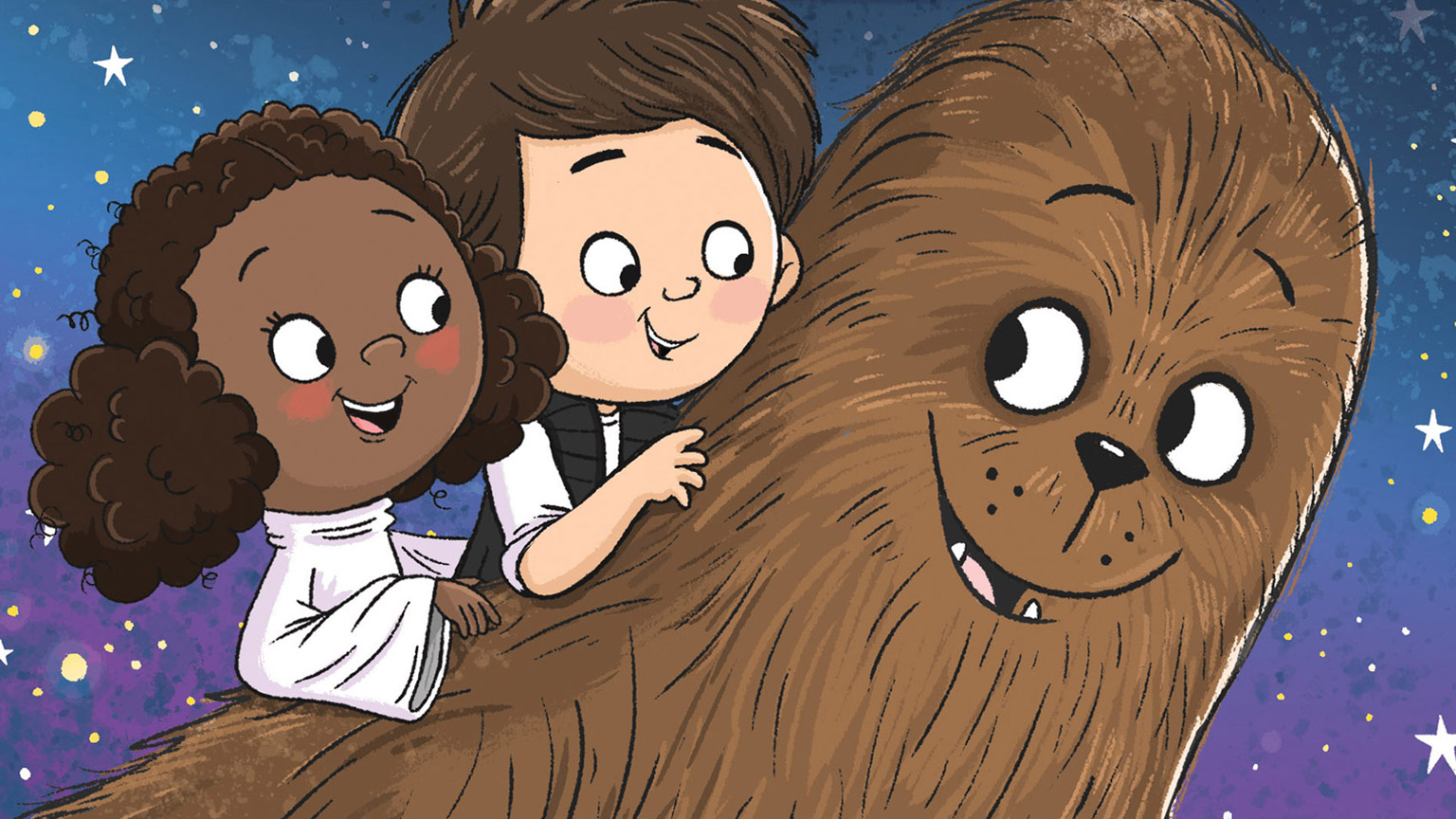 The cover of I Wish I Had a Wookiee.