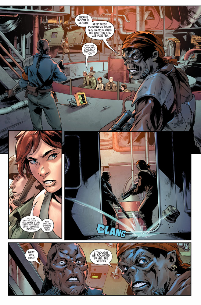 Star Wars: Bounty Hunters#10 preview 5