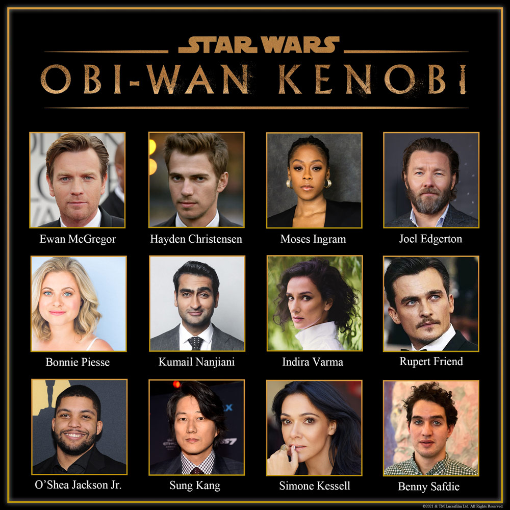 Obi-Wan Kenobi Disney+ series cast