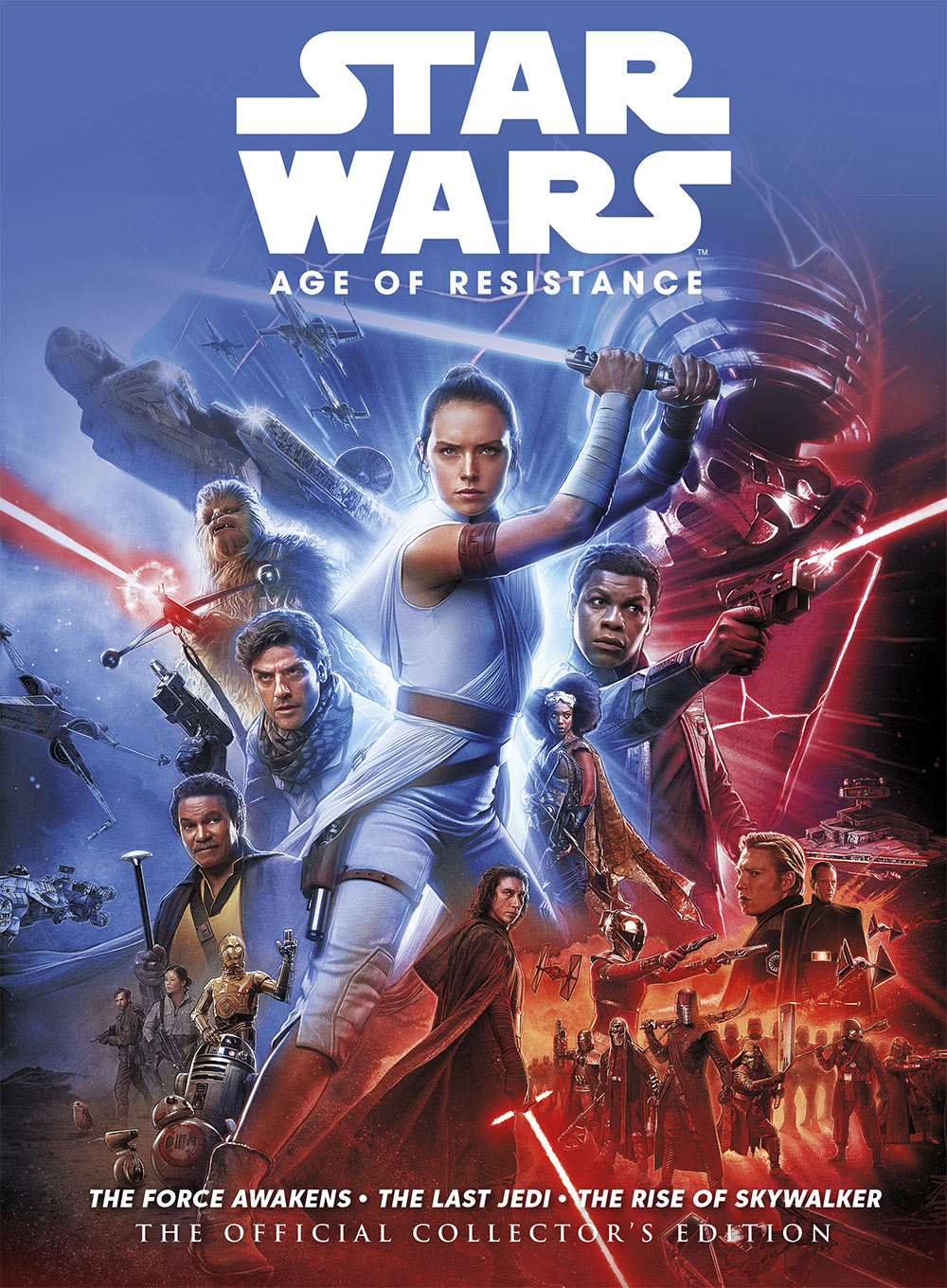 Star Wars: The Age of Resistance cover - hardback