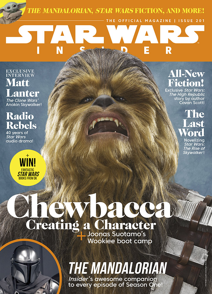 Star Wars Insider 201 cover