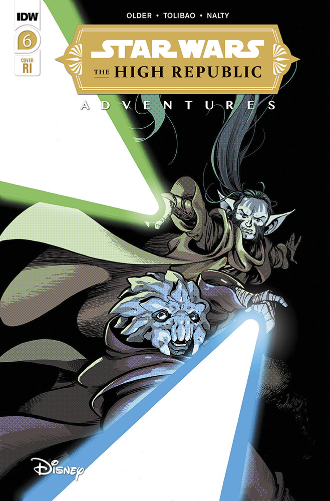 IDW's High Republic Adventures issue #6 cover