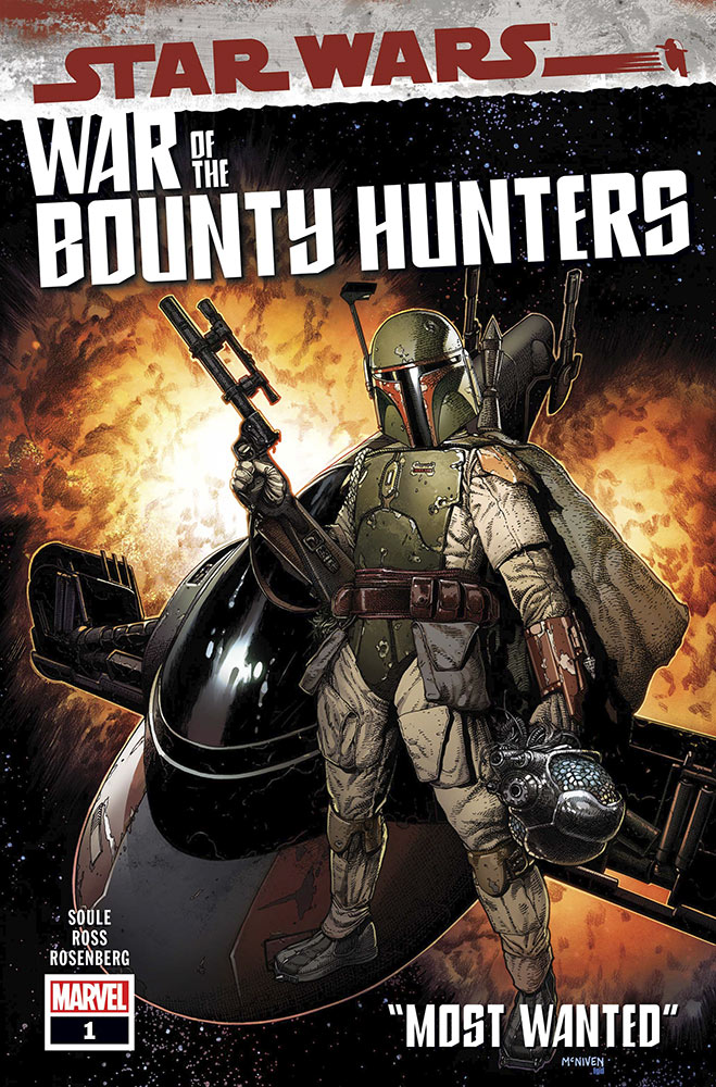 STAR WARS: WAR OF THE BOUNTY HUNTERS #1 cover