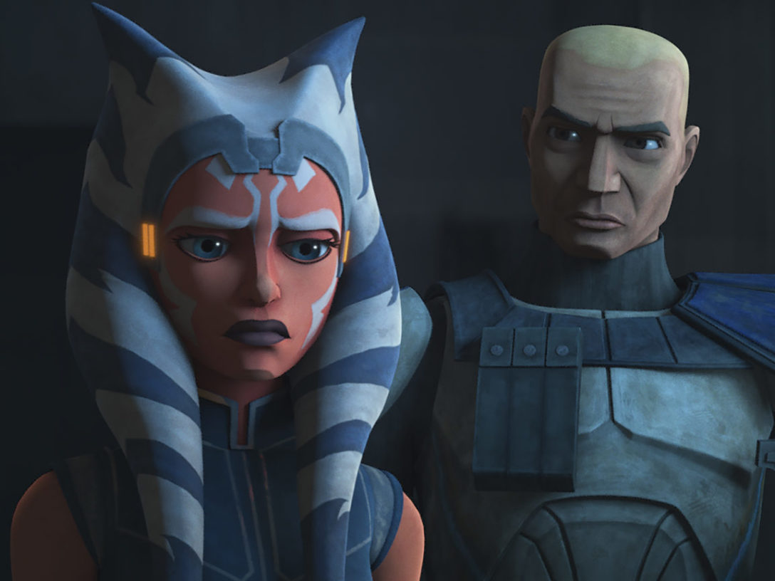 "Rex and Ahsoka in ""Shattered"""