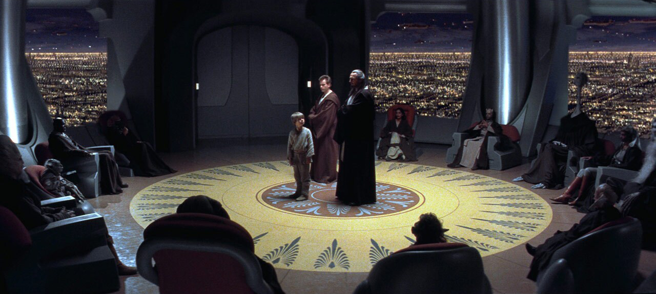 The Jedi Council in Star Wars: The Phantom Menace