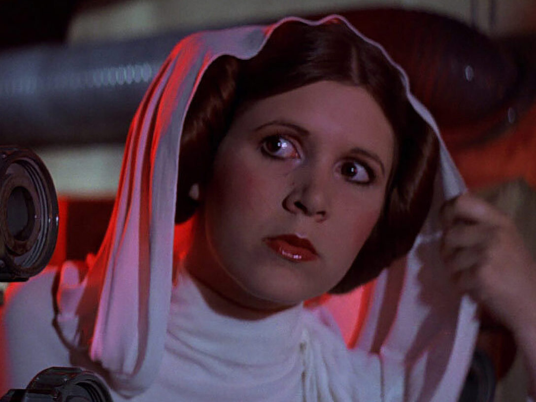 Princess Leia on the Death Star