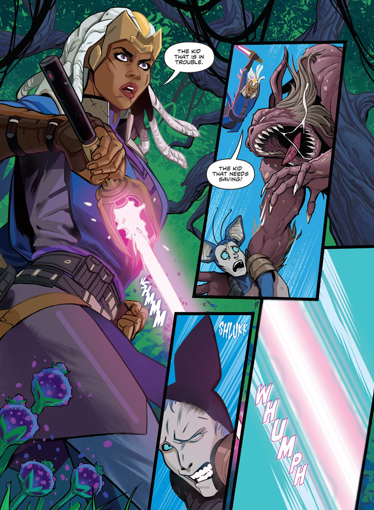 Star Wars: The High Republic: The Monster of Temple Peak preview 4