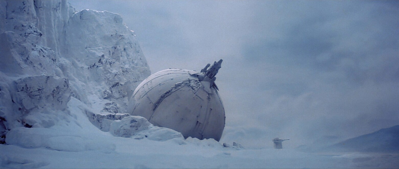 Ion cannon at the Battle of Hoth