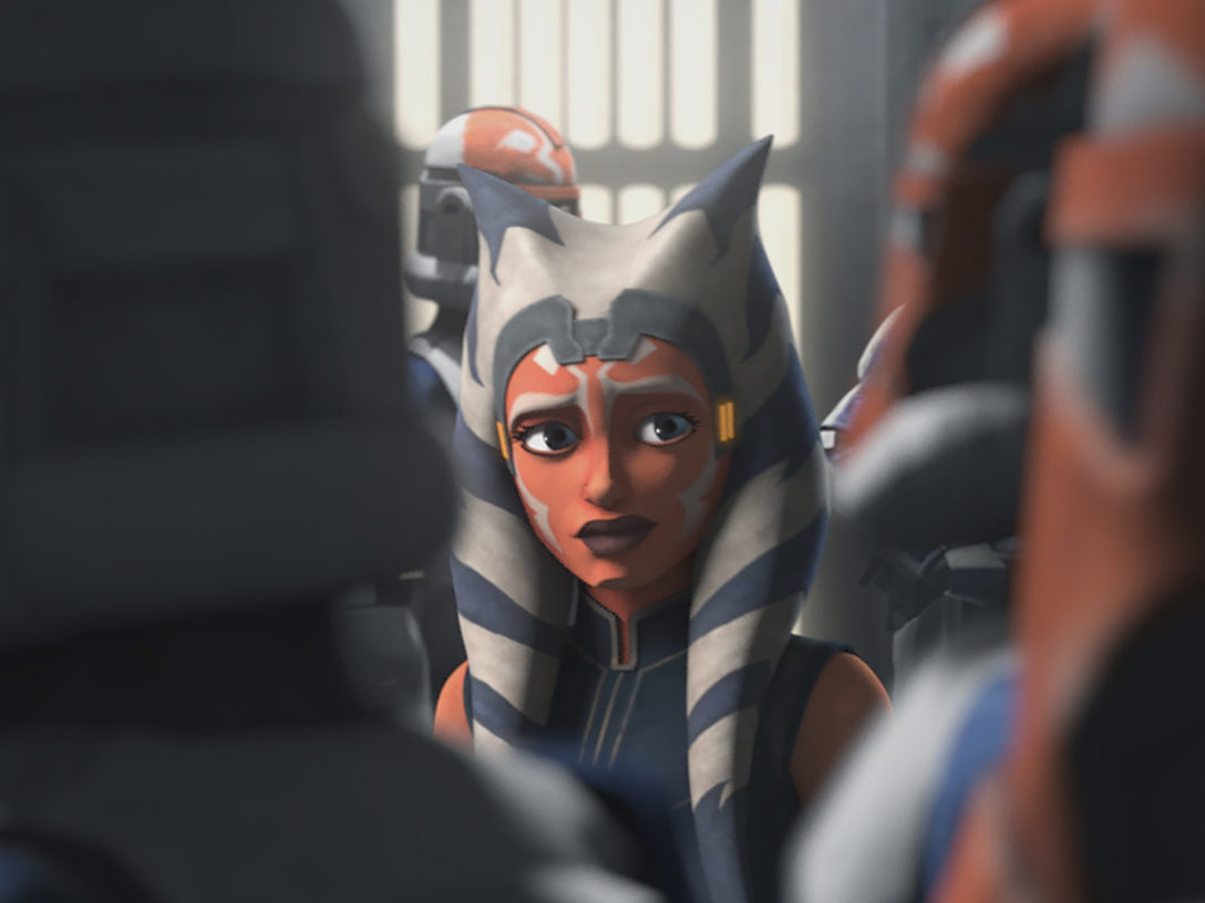 Ahsoka in Star Wars: The Clone Wars
