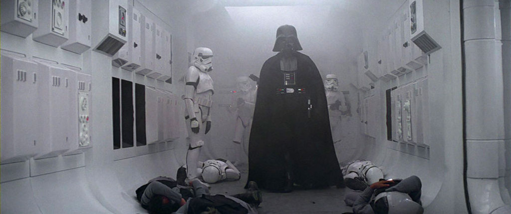 Darth Vader in Star Wars: A New Hope
