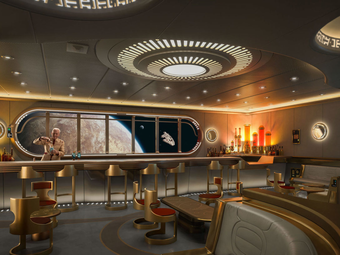"Disney Cruise Line's ""Star Wars: Hyperspace Lounge"""