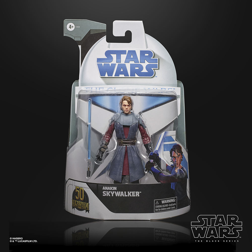 Hasbro's The Black Series - Anakin in package
