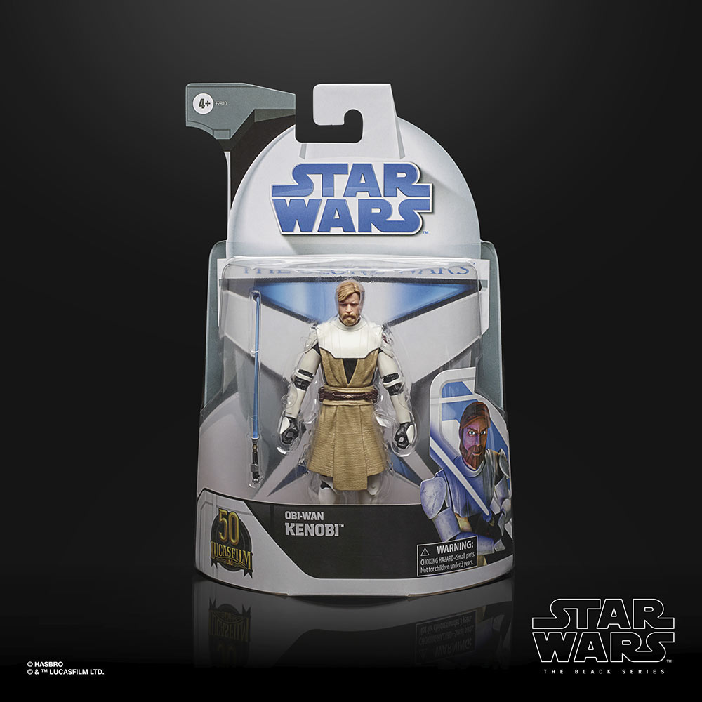Hasbro's The Black Series - Obi-Wan box